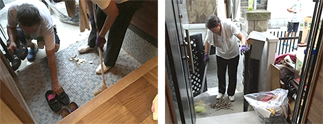 お部屋の中はもちろん、玄関・ガレージ・お庭周りまで綺麗に清掃致します。
